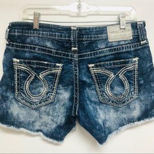 Big Star Shorts - BIG STAR women's LIV denim cut off shorts Sz 31